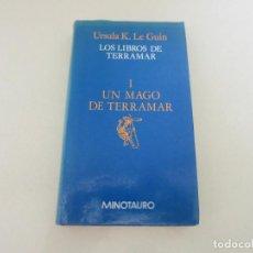 Libros de segunda mano: CIENCIA FICCION FANTASIA MINOTAURO UN MAGO DE TERRAMAR . Lote 134891846