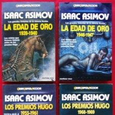 Libros de segunda mano: LA EDAD DE ORO. ISAAC ASIMOV. 4 TOMOS. MARTINEZ ROCA. GRAN SUPER FICCIÓN. BUEN ESTADO.. Lote 135349974