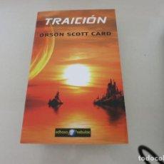 Libros de segunda mano: TRAICION ORSON SCOTT CARD CIENCIA FICCION FANTASIA EDHASA NEBULAE. Lote 135560690