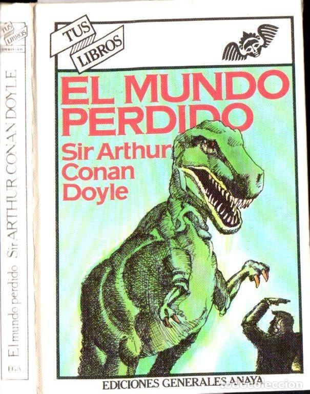 CONAN DOYLE : EL MUNDO PERDIDO (ANAYA, 1981) (Libros de Segunda Mano (posteriores a 1936) - Literatura - Narrativa - Ciencia Ficción y Fantasía)