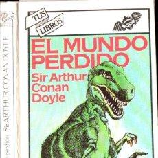 Libros de segunda mano: CONAN DOYLE : EL MUNDO PERDIDO (ANAYA, 1981). Lote 135597490