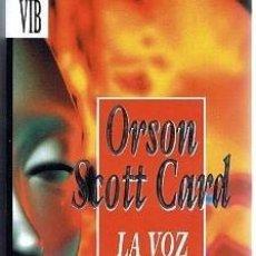 Libros de segunda mano: ORSON SCOTT CARD.LA VOZ DE LOS MUERTOS.EDITA BSA.(1993). Lote 135648291