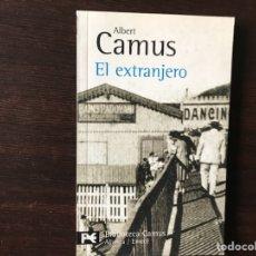 Libros de segunda mano: EL EXTRANJERO. ALBERT CAMUS. Lote 135565829