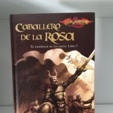Libros de segunda mano: ¡¡¡DRAGONLANCE. LIBRO CABALLERO DE LA ROSA. DOUGLAS NILES. TIMUN MAS. 2008!!!. Lote 135914046