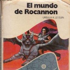 Libros de segunda mano: EL MUNDO ROCAMON - URSULA K. LE GUIN - NOVA CIENCIA FICCION Nº 2 - EDITORIAL BRUGUERA. Lote 136507350