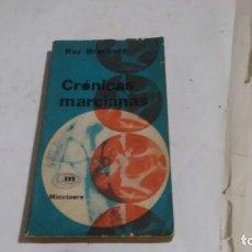 Libros de segunda mano: RAY BRADBURY - CRONICAS MARCIANAS -. Lote 136766278