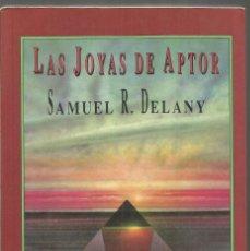 Libros de segunda mano: SAMUEL R. DELANY. LAS JOYAS DE APTOR. VALDEMAR CORVUS CIENCIA FICCION. Lote 136925590