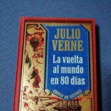 Libros de segunda mano: JULIO VERNE. LA VUELTA AL MUNDO EN 80 DÍAS. . Lote 137594386