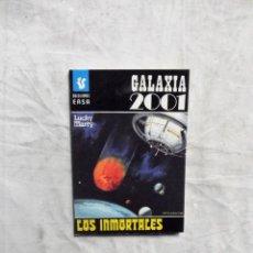 Livres d'occasion: LOS INMORTALES POR LUCKY MARTY - BOLSILIBROS EASA GALAXIA 2001. Lote 138059398