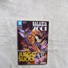 Livres d'occasion: JUEGO SUCIO POR H.S. THEELS - BOLSILIBROS EASA GALAXIA 2001. Lote 138251674