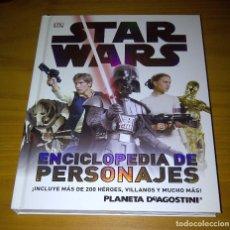 Libros de segunda mano: STAR WARS ENCICLOPEDIA DE PERSONAJES DK PLANETA DE AGOSTINI. Lote 138728818