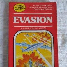 Libros de segunda mano: ELIGE TU PROPIA AVENTURA/EVASION Nº13/TIMUN MAS.. Lote 138841542
