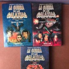 Libros de segunda mano: LA TRILOGIA DE LA NUEVA REPUBLICA STAR WARS - COMPLETA 3 VOLUMENES - TIMOTHY ZAHN - MARTINEZ ROCA. Lote 138932730