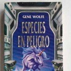 Libros de segunda mano: ESPECIES EN PELIGRO - GENE WOLFE - GRIJALBO LA PUERTA DE PLATA. Lote 139050202
