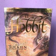Libros de segunda mano: EL HOBBIT JRR TOLKIEN ILUSTRADO POR ALAN LEE. Lote 139242174