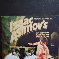 Libros de segunda mano: REVISTA 4, CIENCIA FICCIÓN ISAAC ASIMOV. Lote 139294910