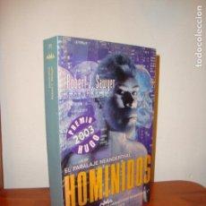 Libros de segunda mano: HOMINIDOS. EL PARALAJE NEANDERTHAL - ROBERT J. SAWYER - NOVA, MUY BUEN ESTADO, MUY ESCASO. Lote 139916406