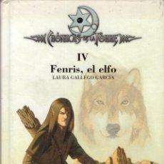 Libros de segunda mano: FENRIS, EL ELFO (CRONICAS DE LA TORRE, IV) - LAURA GALLEGO GARCIA; EDITORIAL SM. Lote 139917750