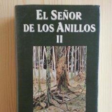Libros de segunda mano: EL SEÑOR DE LOS ANILLOS II: LAS DOS TORRES - J.R.R. TOLKIEN - MINOTAURO, 1988. Lote 140045558