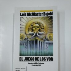 Libros de segunda mano: EL JUEGO DE LOS VOR. L.M. BUJOLD. CIENCIA FICCION ZETA NOVA. TDK333. Lote 140160470