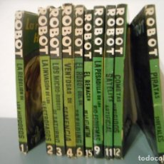 Libros de segunda mano: ROBOT. EDITORIAL MANDO.10 NUMEROS. Lote 141366518