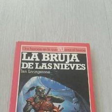 Libros de segunda mano: ALTEA JUNIOR - LUCHA FICCIÓN 9 - LA BRUJA DE LAS NIEVES. Lote 141787266