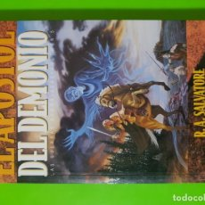 Libros de segunda mano: EL APÓSTOL DEL DEMONIO POR R.A. SALVATORE EN RÚSTICA TIMUN MAS MUCHOS MÁS TÍTULOS DISPONIBLES. Lote 142214874