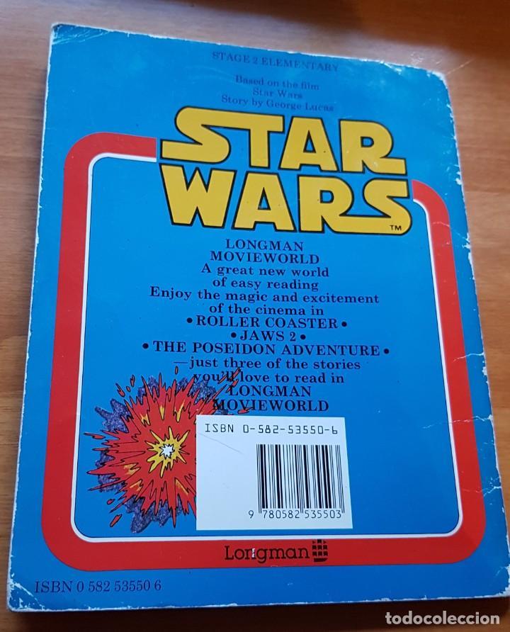 Libros de segunda mano: LA GUERRA DE LAS GALAXIAS-STAR WARS (LONGMAN MOVIEWORLD EASY READING EDITION). COLECCIONISMO - Foto 2 - 142316050