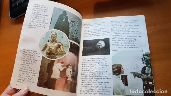 Libros de segunda mano: LA GUERRA DE LAS GALAXIAS-STAR WARS (LONGMAN MOVIEWORLD EASY READING EDITION). COLECCIONISMO - Foto 4 - 142316050