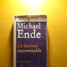 Libros de segunda mano: LA HISTORIA INTERMINABLE. MICHAEL ENDE.. Lote 143003510