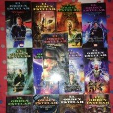 Libros de segunda mano: LOTE DE TRECE EJEMPLARES DE LA COLECCIÓN EL ORDEN ESTELAR ( LA EPOPEYA GALACTICA ) POR A. THORKENT. Lote 143050070