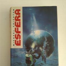 Libros de segunda mano: ESFERA/MICHAEL CRICHTON. Lote 143105552