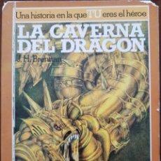 Libros de segunda mano: LA BÚSQUEDA DEL GRIAL N°2 LA CAVERNA DEL DRAGÓN 1989. Lote 143115398