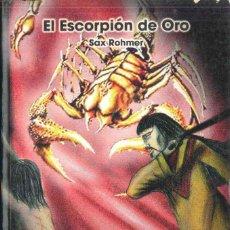 Libros de segunda mano: EL ESCORPION DE ORO ,ANS EDITOR. Lote 143282858