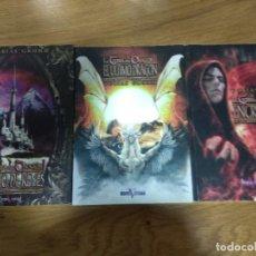 Libros de segunda mano: TRILOGIA LA TIERRA DEL DRAGON NICHO DE REYES,EL ULTIMO DRAGON Y ENCRUCIJADA DE TOBIAS GRUMM. Lote 143753542