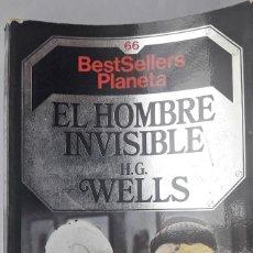 Libros de segunda mano: EL HOMBRE INVISIBLE. (H.G. WELLS). Lote 144167538