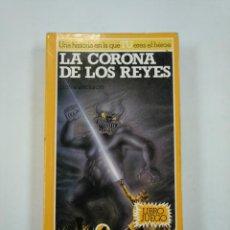 Libros de segunda mano: LA CORONA DE LOS REYES. BRUJOS Y GUERREROS Nº4. STEVE JACKSON. TDK353. Lote 144892090