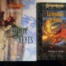 Libros de segunda mano: HÉROES DE LA DRAGONLANCE 1 Y 2. Lote 145118046