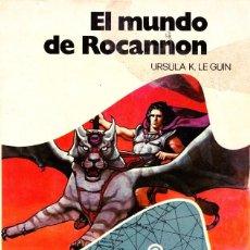 Libros de segunda mano: EL MUNDO DE ROCANNON. URSULA K. LE GUIN. 1989 BRUGUERA. NOVA CIENCIA FICCION 2. Lote 145247466
