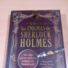 Libros de segunda mano: EL LIBRO DE LOS ENIGMAS DE SHERLOCK HOLMES - 2012 - GRIJALBO - LEER - VER FOTOS . Lote 146301298