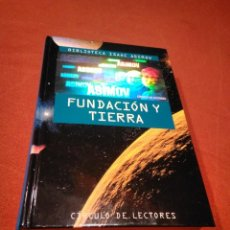 Libros de segunda mano: ISAAC ASIMOV _ FUNDACION Y TIERRA. Lote 146957902
