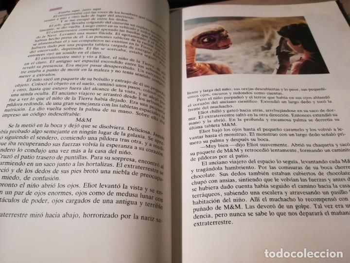 Libros de segunda mano: E.T. El Extraterrestre. El libro de la película. Con fotografías del film de Steven Spielberg - 1983 - Foto 5 - 147083682