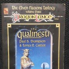 Libros de segunda mano: DRAGONLANCE - THE QUALINESTI - LIBRO - TAPA BLANDA - USA - FANTASIA. Lote 147391990
