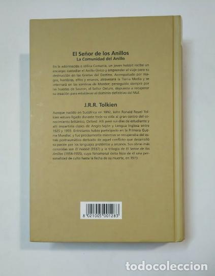 Libros de segunda mano: CINE PARA LEER: EL SEÑOR DE LOS ANILLOS. LA COMUNIDAD DEL ANILLO. TOLKIEN, J. R. R. TDK360 - Foto 2 - 147894798