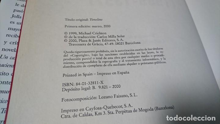 Libros de segunda mano: RESCATE EN EL TIEMPO 1999-1357, MICHAEL CRICHTON - Foto 4 - 147963914