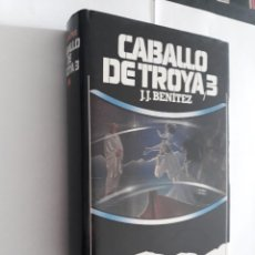 Libros de segunda mano: CABALLO DE TROYA 3 . J.J. BENITEZ. CIRCULO DE LECTORES. Lote 148282978