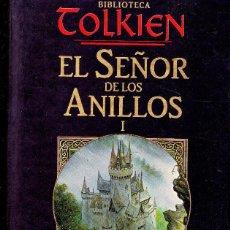 Libros de segunda mano: BIBLIOTECA TOLKIEN EL SEÑOR DE LOS ANILLOS I LA COMUNIDAD DEL ANILLO SEGUNDA PARTE LIBRO. Lote 148392190