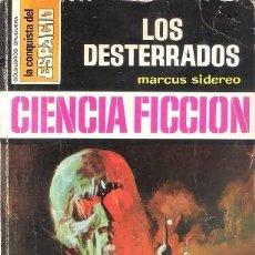 Livres d'occasion: LOS DESTERRADOS. MARCUS SIDEREO. BRUGUERA. LA CONQUISTA DEL ESPACIO, Nº 148.. Lote 148534990