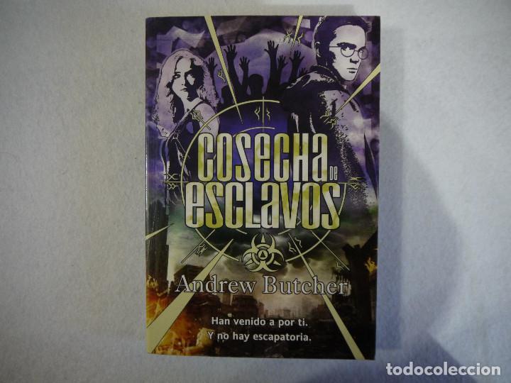 COSECHA DE ESCLAVOS - ANDREW BUTCHER - LA FACTORIA DE IDEAS - 2012 (Libros de Segunda Mano (posteriores a 1936) - Literatura - Narrativa - Ciencia Ficción y Fantasía)