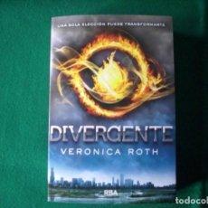 Libros de segunda mano: DIVERGENTE - VERONICA ROTH - RBA - PRIMERA EDICIÓN AÑO 2011. Lote 149517818